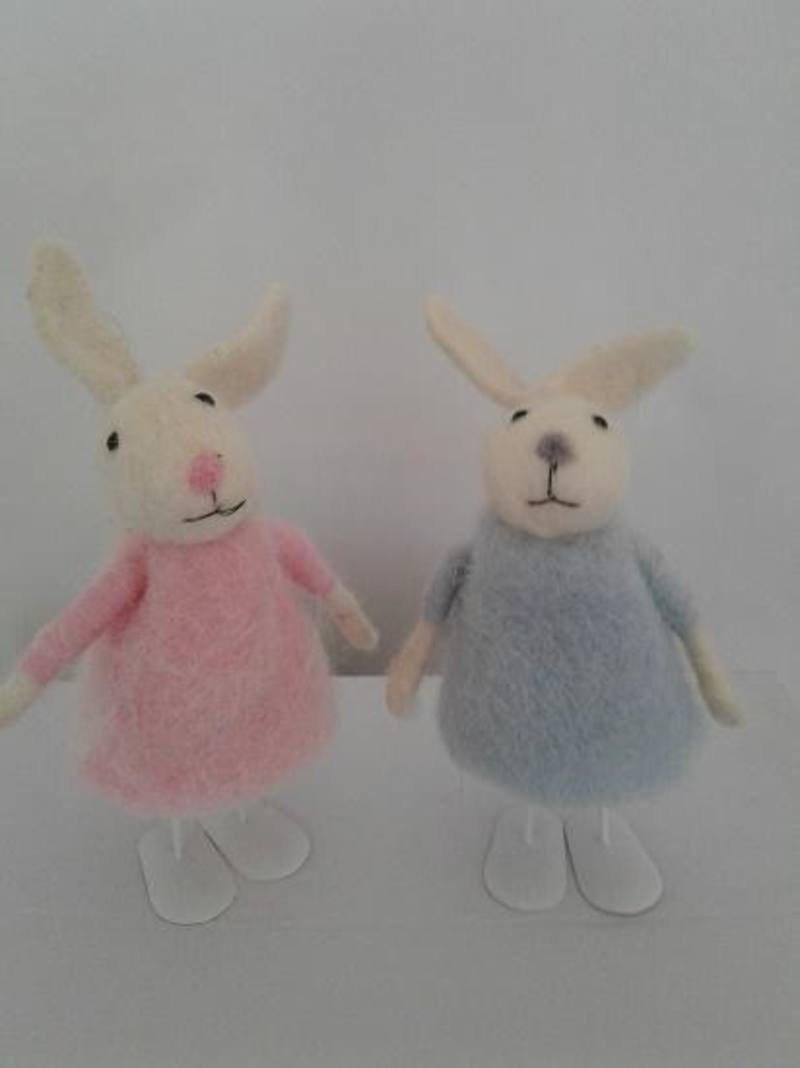 "Easter Woolly ""Charlottes""  2  assorted"