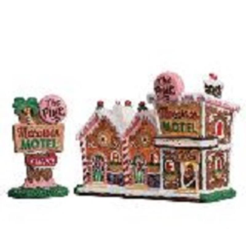 The Pink Macaroon Motel. Set of 2