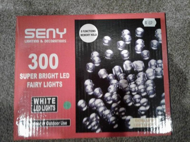 Fairy Lights-300 LED  White