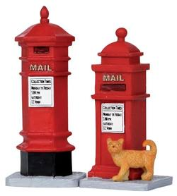 Victorian Mailboxes.