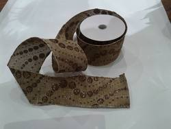 Gold Glitter Dots Ribbon