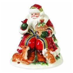 Santa Cookie Jar 21cm