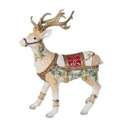 Yuletide Deer Figurine