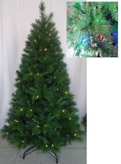 Dramatic 6Ft Pre Lit Tree