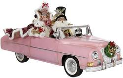 Pink Cadiallac - Mr and Mrs Claus