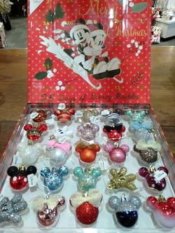 Disney Mickey Advent  Baubles