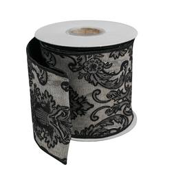Damask Jaquard Ribbon