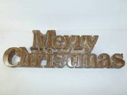 Merry Christmas Sign, Rustic
