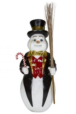 Snowman with Glasses  - Large