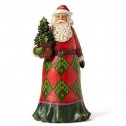 Evergreen Santa,  Rooted in Tradition