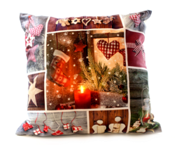 Cushion Lightup  -  Patchwork