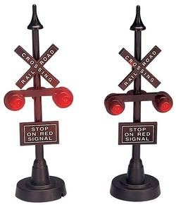 "4"" Railway Stop Light.  Set Of 2"