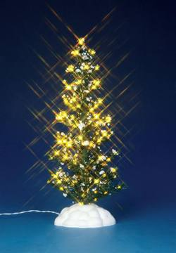 "9"" Lighted Pine Tree Large"