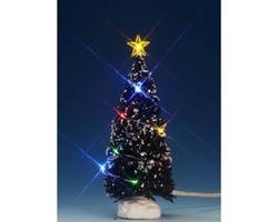 6in Evergreen Tree, Muli-Light