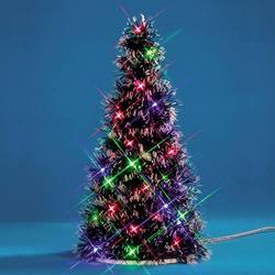 11 in. Multi Light Fir Tree