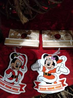 2020 Mickey or Minnie  decoration- price per each