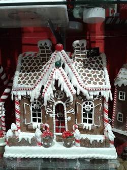 Gingerbread House Lightup