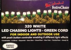 Chasing Lights 320 LED White