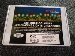 320 Multi Lights - Green cord- SPECIAL
