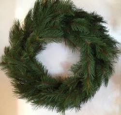 "Wreath 30""  Mixed Pine"