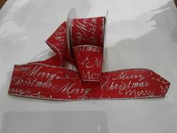 Red, Silver Writing Ribbon