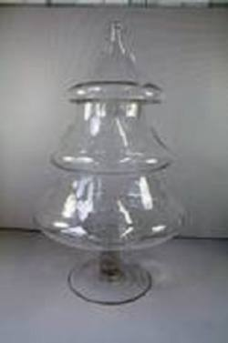Christmas Tree Glass  Barrel  LGE