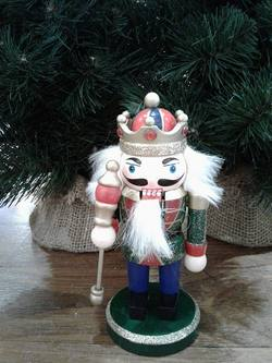 NUTCRACKER, Mini with  Staff
